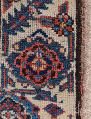 Persian Kurdish Bag c1880's size 55x69 cm