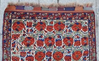 Late 19th Century Persian Khamseh Bag Face size 78xx80 cm