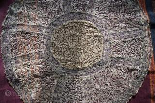 phantastic work made of gold thread dm 60cm