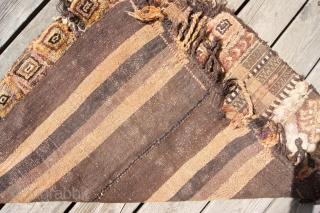 northeast anatolian horseblanket ca.1940  97x84cm, chem.dyes