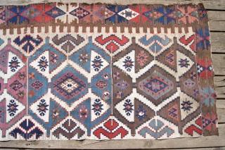 anatolian Kelim frag 77x218cm