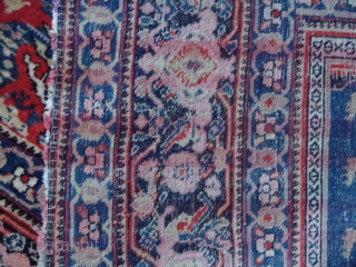 """Persian, 6'6"""" x 4'3"""" the warp is silk as seen in the last photo showing the back of the rug. It was in the 1980'sexhibit of rugs of Los Angeles collectors curated  ..."""
