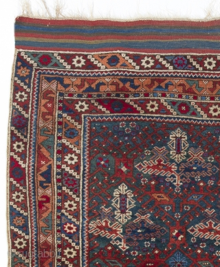 Antique Anatolian Doshemealti (Doshmealti) Rug, 4.1 x 4.9 Ft  (125x145 cm), ca late 19th Century, very good condition, all original,  no repairs, no issues.