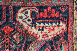Silky wool and delightful colour elevates this example out of a rather ordinary group into a small, elite group of pieces actually worth collecting. It's one of the best I have seen,  ...