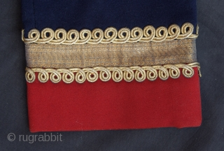 A colonial woolen tunic.