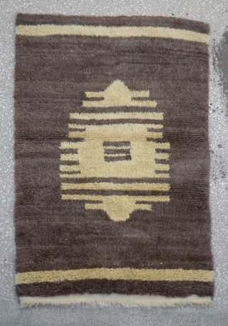 Central Anatolian Karapinar Tulu Rug Size:106 x 153 Cm                          ...