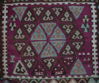 "Central Anatolian sivas Kilim Rug, Circa:1900 Size:240x408Cm         7'11""x13'4"""