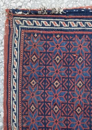 "South west Persia - Afshar salt bag. Size:67 x 61 Cm         2'2""x2"""