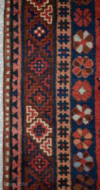 """Central Asian-Kyrgyz Rug-Late 19th Century Size: 325 x 135Cm  10'8""""x4'6"""""""