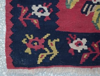 Antique Immigrant Kilim
