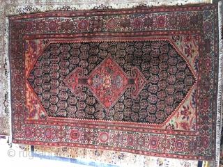 Fine old Sarouk Farahan size 6'2 x 4'1 ft