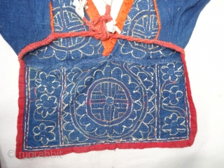 Indigo Blue,Embroidery Backless Choli From Chamba Region of Himachal Pradesh India.Circa 1900(20190513_152707).