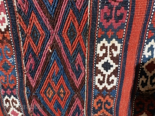 Flaweave, east  Anatolia, probably kurde, 93 x 70.