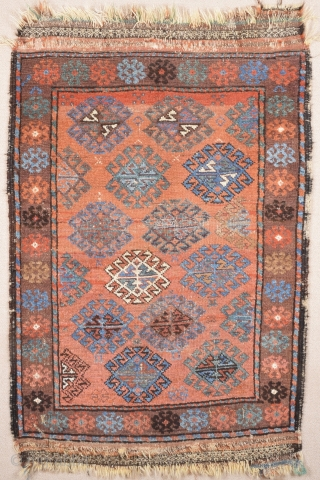 1860s or little more early Belüch.It's in good condition and has great colors Size 82 x 123 cm