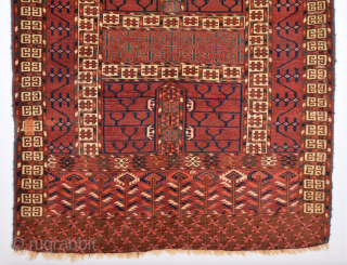 Mid 19th Century Lovely Yamud Engsi Size 120 x 140 cm
