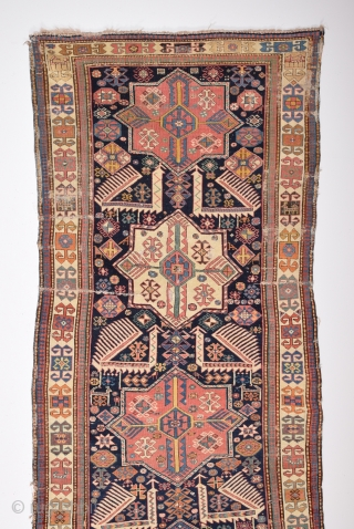 Mid 19th Century Akstafa Rug size 116x282 cm
