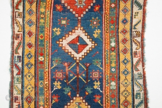 19th Century Lovely Anatolian Megri Rug Size 95 x 163 Cm.Untouched One.Copmpelty Original.