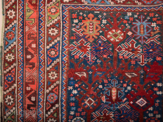 19th Century Bergama Rug It's in Good Condition Size 110 x 148 cm