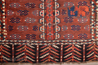 Circa 1800s Yamud Engsi It Has Unusual Elems Size 135 x 180 cm