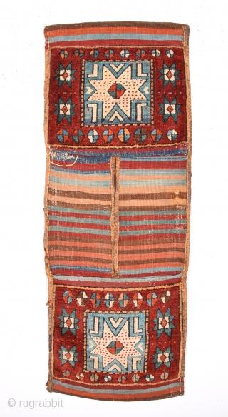 19th Century Anatolian Sivas Heybe Size 42 x 109 Cm
