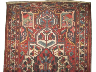 "Baktiar Persian circa 1920 antique, Size: 200 x 130 (cm) 6' 7"" x 4' 3""  carpet ID: K-5206