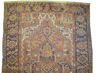 "Heriz Persian circa 1910 antique.  Size: 342 x 222 (cm) 11' 3"" x 7' 3""  carpet ID: P-6124