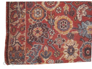 "Wagire /  Qashqai Mille Fleur Persian 1905 antique, collector's item, Size: 107 x 71 (cm) 3' 6"" x 2' 4""  carpet ID: MMM-8