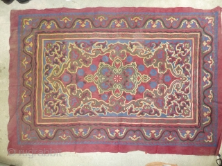 Another Idunnowhatitis, applique work, very decorative, nice colours, probably something ottoman related, Dolmabahce period