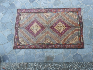 Measures cm. 271 x 165 cm.