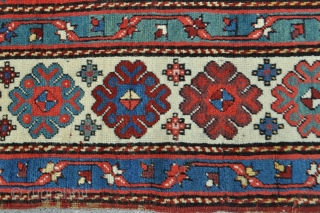 Colorful Talish with spongy soft wool pile, great saturated natural colors and details... unfortunately cut and shut but priced accordingly!