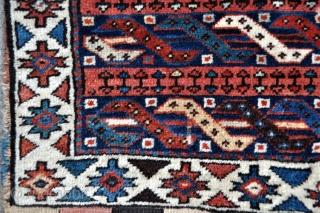 "Northwest Persian Shahsavan Saddle bags - 21"" x 51"" - 54 x 130 cm."