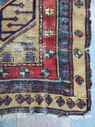 Beautiful Shahsevan pile Rug, Circa 19th Century from NW Persia, 