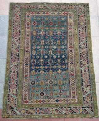 A beautiful and very fine Tcithci Rug ! Lovely colors ! Circa : 1850/60 Size : 152x111cm , Contdion as photos… Please don't ask me more pictures from ! I won't ! Thanks.