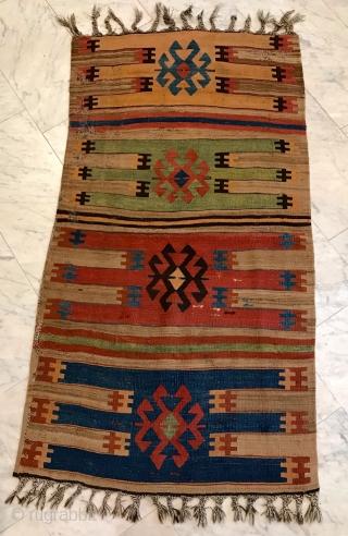 Kilimfragment Cent. Anatolia, Cappadocia 164 x 90 cn