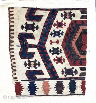 Kilimfragment, Westanatolia 77x67 cm