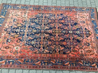 Fine antique Persian Bidjar rug on wool foundation, size: ca. 210x135cm / 6'9''ft x 4'4''ft