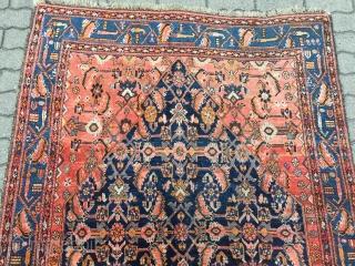 Fine antique Persian Bidjar rug on wool foundation, size: ca. 210x135cm / 6'9''ft x 4'4''ft