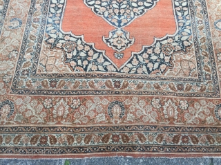 Fine antique Persian Tabriz Haji Jalili rug, size: ca. 175x125cm / 5'8''ft x 4'1''ft Age: 19th century