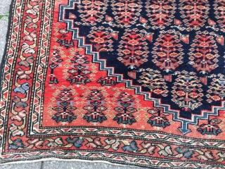 Fine antique Persian Ferahan Poshti, size: ca. 78x64cm / 2'6''ft x 2'1''ft  www.najib.de