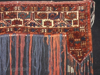Turkmen Yamut Kapilik. (door hanging) in good condition.130 x 126 cm  www.eymen.com.tr