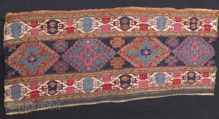 Shasavan mafrash panel in good condition . 95 x 40 cm .