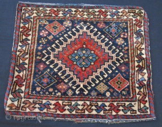 Antique khamseh bag face 59 x 52 cm