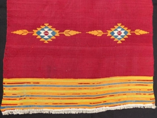 Antique halepo kilim yastik,86 x 47 cm