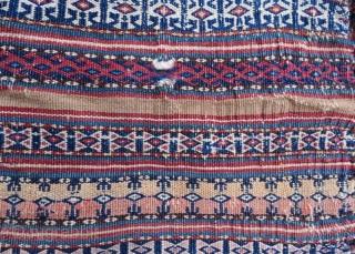 Antique Turkmen salt bag ,54 x 34 cm  www.eymen.com.tr