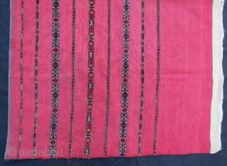 Turkmen Tekke ak chuval with pile,130 x 87 cm . www.eymen.com.tr