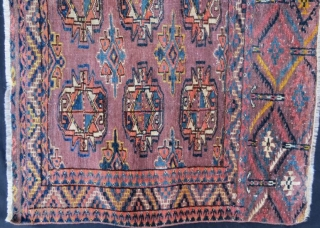 Turkmen Yamut Chuval in good condition .115 x 73 cm .