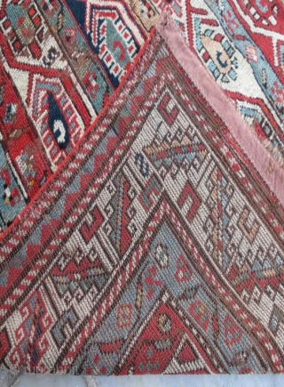 Antique shasavan rug,250 x 108 cm . www.eymen.com.tr