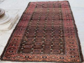 Antique Beluch Rug ,253 x 104 cm. www.eymen.com.tr