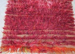 Central Anatolian angora filikli rug. 208 x 118 cm