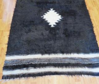 Vintage Anatolian Sirt blanket .184 x 126 cm